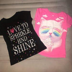 Other - Girls short sleeve shirt bundle